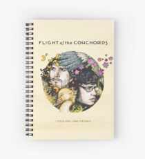 Flight of the Conchords - I Told You I Was Freaky Spiral Notebook