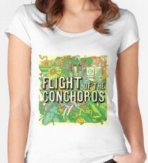 Flight of the Conchords - Album Women's Fitted Scoop T-Shirt