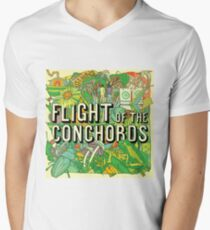 Flight of the Conchords - Album Men's V-Neck T-Shirt