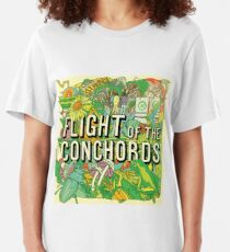 Flight of the Conchords - Album Slim Fit T-Shirt
