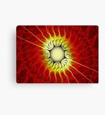 Fire Flower-Apophysis 7 Canvas Print