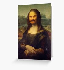 The Mona Swanson Greeting Card