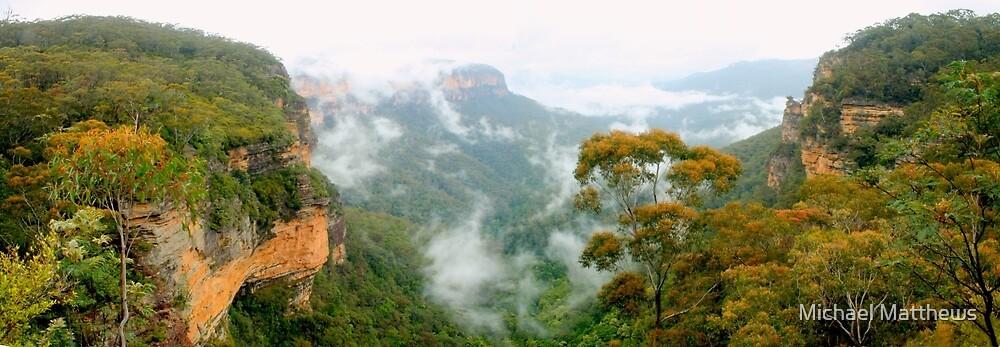 Misty Jamison Valley panorama by Michael Matthews