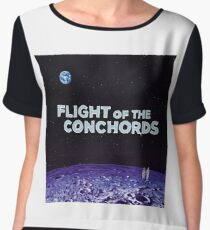 Flight of the Conchords - The Distant Future Women's Chiffon Top