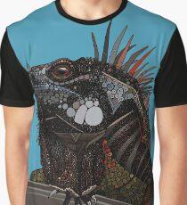 iguana blue Graphic T-Shirt
