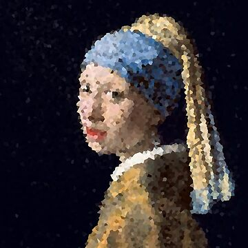 Girl with a Pearl Earring by -chihuahua