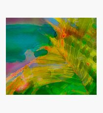 Abstract Palm Art tshirt Photographic Print