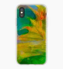 Abstract Palm Art tshirt iPhone Case