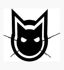 Graphics Cat Photographic Print