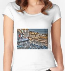 St. Ives - the other side Women's Fitted Scoop T-Shirt