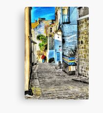 A back street in St. Ives Canvas Print