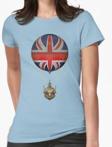 Steampunk Union Jack Vintage Hot Air Balloon T-Shirt