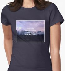 Sleeping at Last Womens Fitted T-Shirt