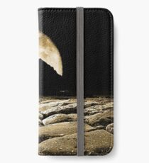By the light of the Sepia moon. iPhone Wallet/Case/Skin