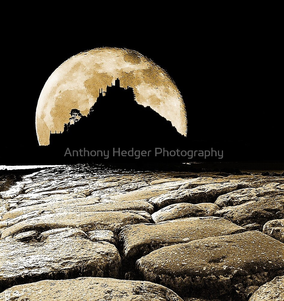 By the light of the Sepia moon. by Anthony Hedger Photography
