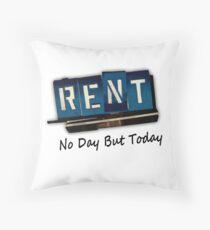 Rent The Musical Throw Pillow