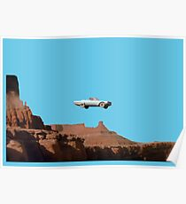 THELMA AND LOUISE CAR Poster