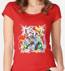 Undertale - Asriel Dreemurr Chibi Women's Fitted Scoop T-Shirt