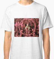 Closeup of the Hero August Landmesser Classic T-Shirt