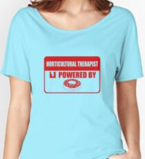 Horticulture therapist powered by Women's Relaxed Fit T-Shirt