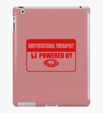 Horticulture therapist powered by iPad Case/Skin