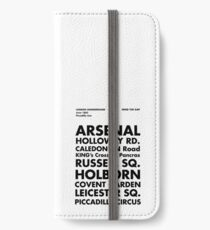Piccadilly Line in Futura iPhone Wallet/Case/Skin