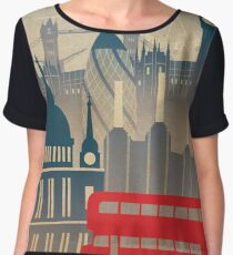 London view Women's Chiffon Top