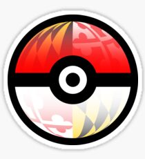 Maryland Pokeball Sticker