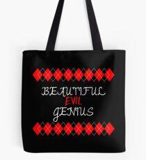 Comics - Beautiful Evil Genius Tote Bag