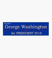 George Washington for President Photographic Print