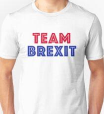 EU vote - Team Brexit Unisex T-Shirt