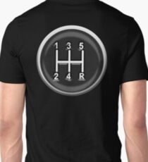 Gear, Knob, Gear shift knob, Stick, Shift, Car, Cars, Motorsport, Motoring, Race, Racing T-Shirt