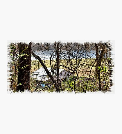 """""""A Sneak Peek of the Old Farm and the Tale Behind It""""... prints and products Photographic Print"""