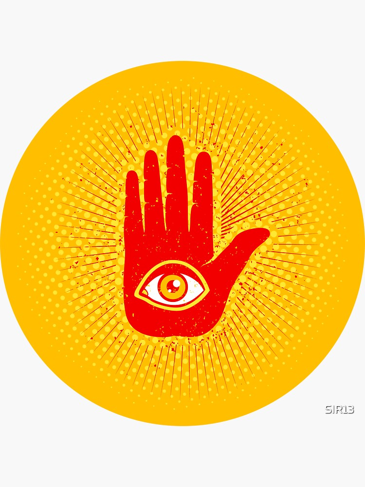 Hand and eye by SIR13