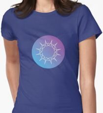 "Swedenborg Foundation ""Sun Design"" Women's Fitted T-Shirt"