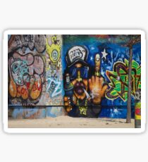 Cool Graffiti Artist Sticker