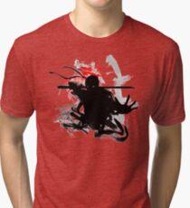 Japanese Ninja Tri-blend T-Shirt