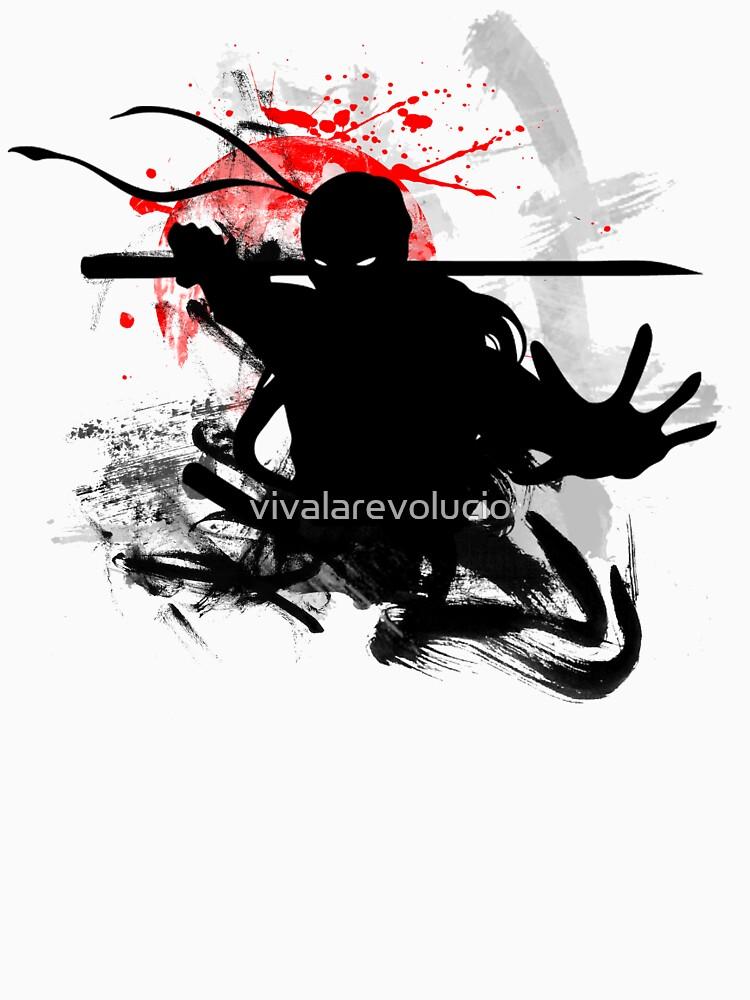 Japanischer Ninja von vivalarevolucio