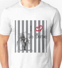 I love Tim Burton T-Shirt