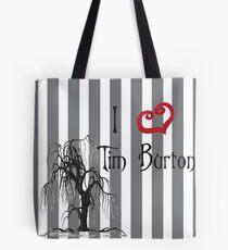I love Tim Burton Tote Bag