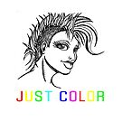 """JUST COLOR - """"Mohawk Girl"""" by LifeForever"""