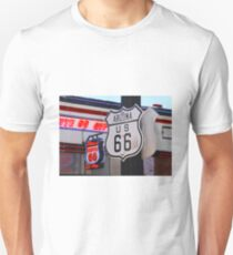 """""""Get Your Kicks on Route 66""""  T-Shirt"""