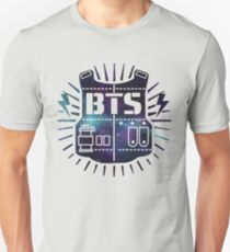 BTS Bulletproof Galaxy T-Shirt