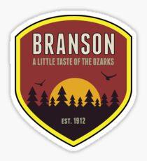 BRANSON MISSOURI A LITTLE TASTE OF THE OZARKS OZARK MOUNTAINS MOUNTAIN Sticker