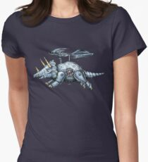 Tricerabot Women's Fitted T-Shirt