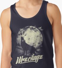 """Wreckage"" - Wreckage Wolf T-Shirt"