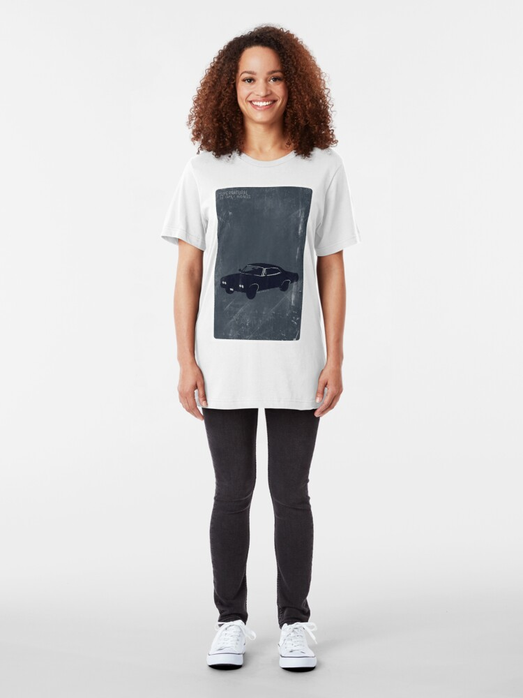 Alternate view of Supernatural Minimalist Slim Fit T-Shirt