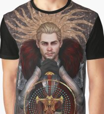 Commander Tarot Graphic T-Shirt