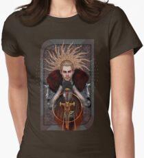 Commander Tarot Womens Fitted T-Shirt
