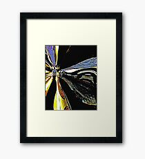 We're Venting Plasma Here Framed Print